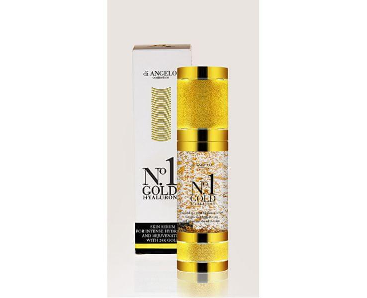 Ostatní Pleťové sérum s kyselinou hyaluronovou No.1 Gold Hyaluron (Skin Serum For Intense Hydration) 30 ml