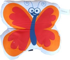 Home Polštářek s motivem motýlek 15x30 cm