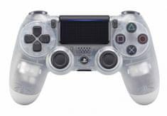 SONY kontroler PS4 DualShock 4 V2, przezroczysty