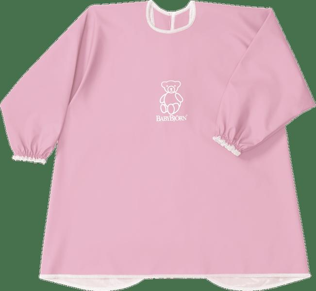 Babybjörn Zástěrka na krmení a hraní, růžová