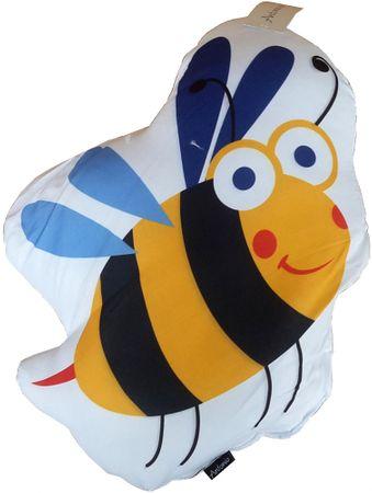 Home Vankúšik s motívom včielka 15x30 cm