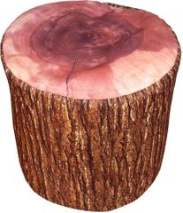 Home Taburet dřevo tmavý 45x45x45 cm