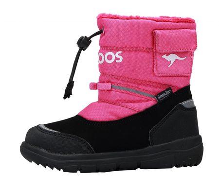 KangaROOS dekliški čevlji za sneg Oliti 28 roza