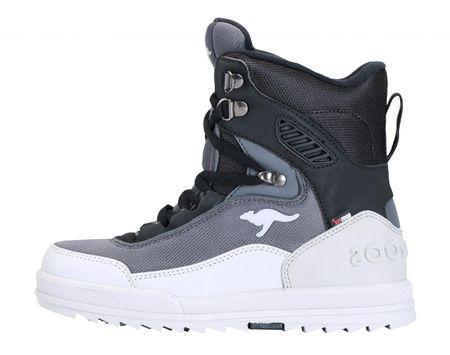KangaROOS zimske čizme za dječake Killman 31 siva