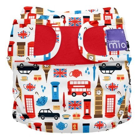 Bambinomio plenkové kalhotky Great Britain vel. 1