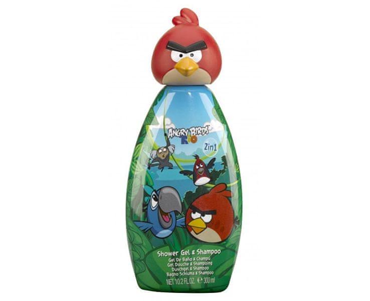 EP Line Sprchový gel a šampon pro děti Angry Birds Red Bird Rio 300 ml
