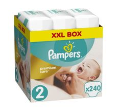 Pampers Pleny Premium Care 2 (Mini) - 3-6 kg, 240 ks