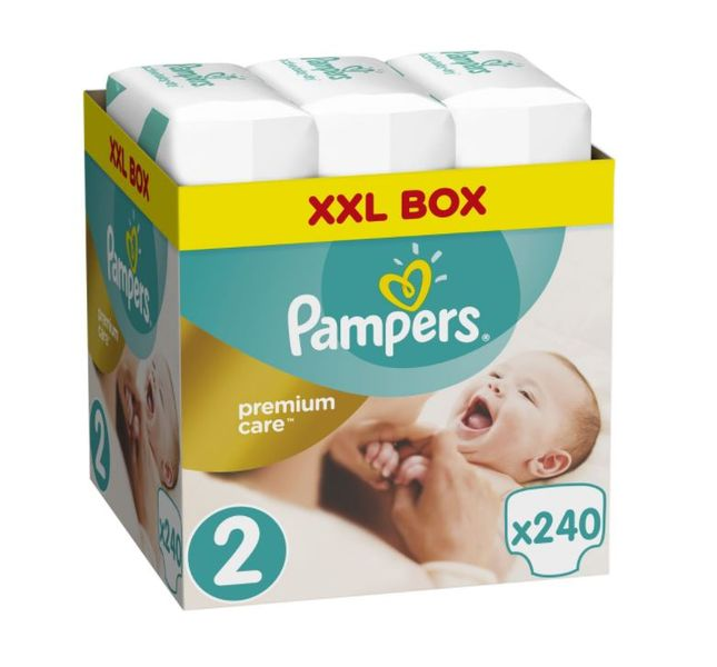 Pampers Pleny Premium Care 2 (Mini) - 240 ks