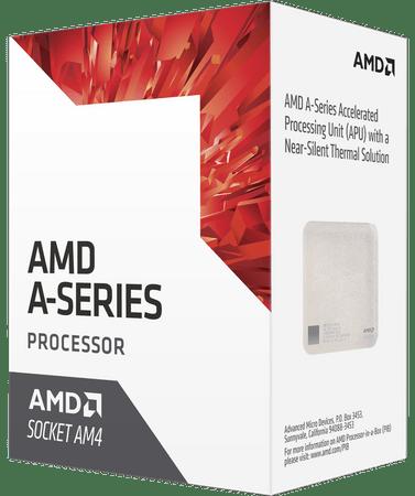 AMD procesor A6 9500 s hladilnikom Bristol Ridge, AM4, 65W (AD9500AGABBOX)