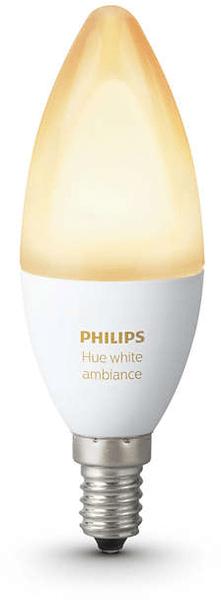 Philips Hue Ambiance žárovka 6W B39 E14 EU