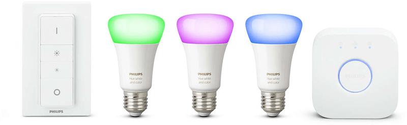 Philips Hue žárovka 10W A19 E27 3 set EU