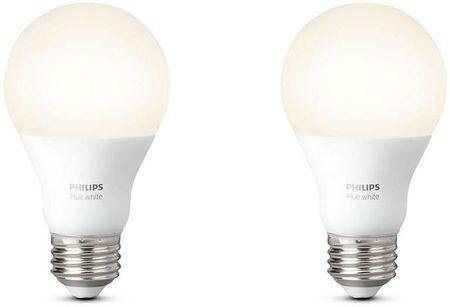 Philips żarówka HUE E27 9,5W A60, biała 2 szt.