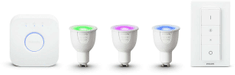 Philips zestaw startowy Hue White and Color Ambiance GU10