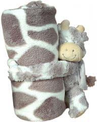 Home Dětská deka s plyšovým zvířátkem