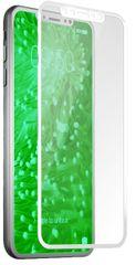 SBS zaščitno steklo 4D Full za iPhone X, belo