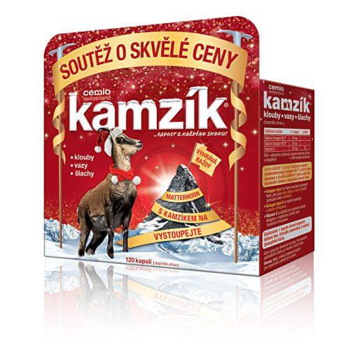 Cemio Kamzík 120 kapslí Vánoce 2017