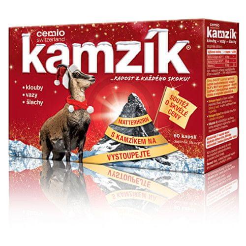 Cemio Kamzík 60 kapslí Vánoce 2017