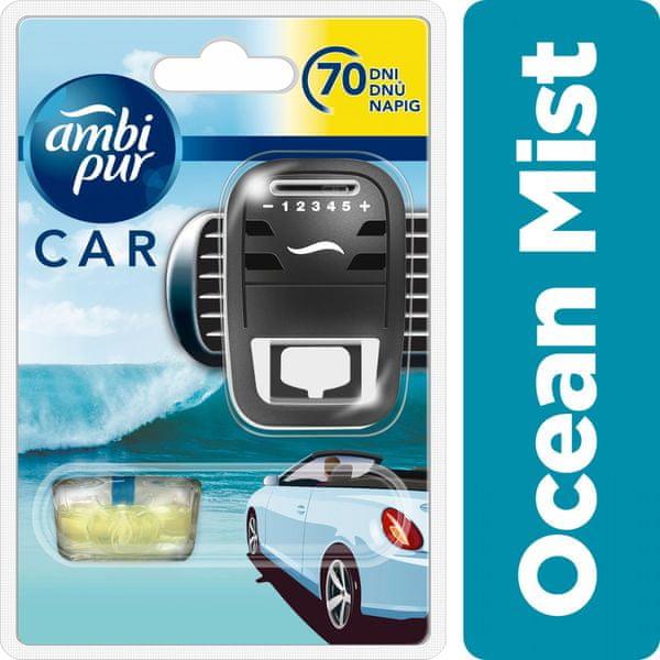 Ambi Pur Car strojek + náplň Ocean Mist 7 ml