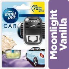Ambi Pur Car Moonlight Vanilla autóillatosító kezdőcsomag 7 ml