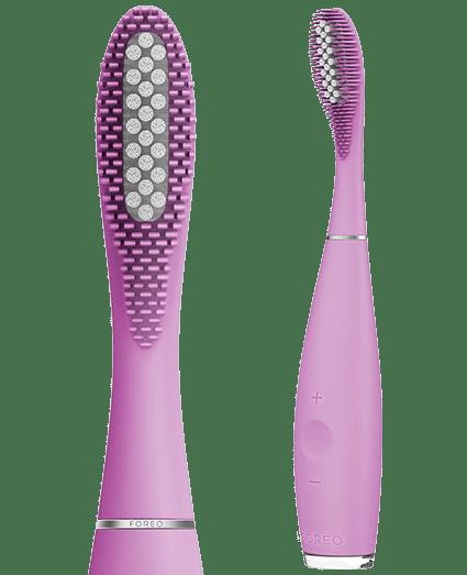 FOREO hibridna silikonska električna zobna ščetka ISSA Hybrid, roza