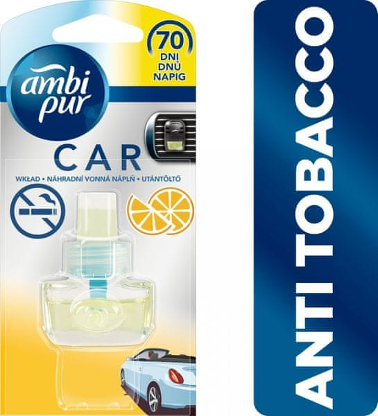 Ambi Pur Car náplň Anti Tobacco 7 ml