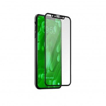 SBS zaščitno steklo 4D Full za iPhone X, črno