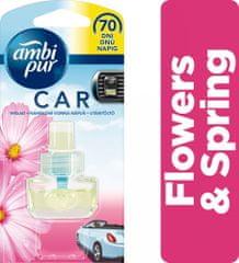Ambi Pur Car náplň Flowers & Spring 7 ml