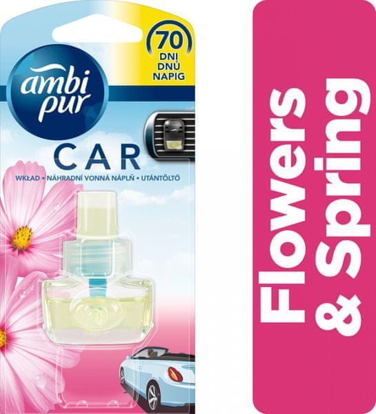 Ambi Pur Car náplň Flowers & Spring 7 ml