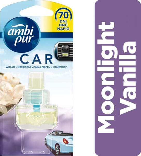Ambi Pur Car náplň Moonlight Vanilla 7 ml