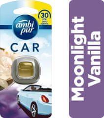 Ambi Pur Car Moonlight Vanilla Připínací osvěžovač vzduchu 1ks