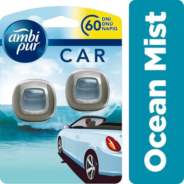 Ambi Pur Car Jaguar Ocean Mist Duopack 2 x 2 ml