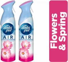 Ambi Pur Spray Flowers & Spring 2 x 300 ml