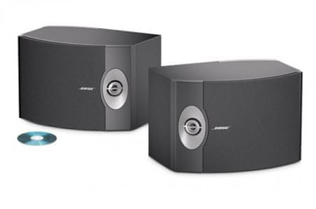 Bose Stereo zvočniki 301-V, črni