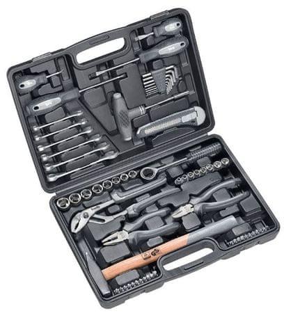 KWB komplet ročnega orodja v plastičnem kovčku 63/1 (49375500)