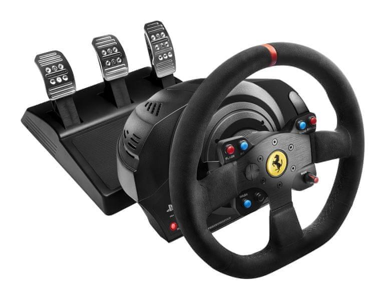 Thrustmaster Sada volantu a pedálů T300 Ferrari 599XX EVO Alcantara (4160652)
