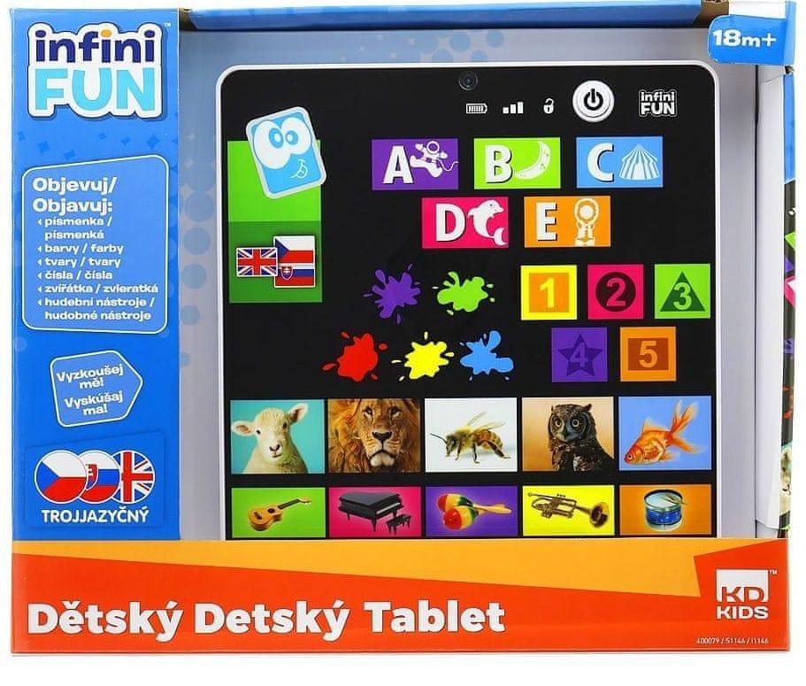 Alltoys Dětský tablet - CZ/SK/AJ