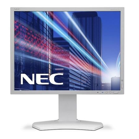 NEC LCD monitor MultiSync P212-WH, bel