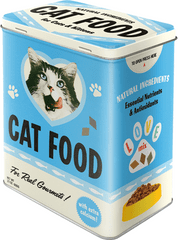 Postershop puszka metalowa L Cat Food