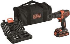 Black+Decker akumulatorski udarni vrtalnik vijačnik BDCHD18S32
