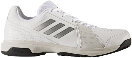 Adidas moški teniški copati Approach Oc, belo/srebrno/črni, 44,0