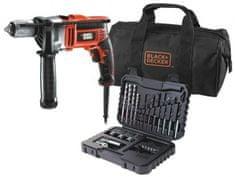 Black+Decker udarni vrtalnik KR805S32 800W