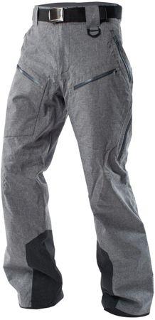 Northfinder moške smučarske hlače Darek Greymelange, L, sive