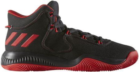 Adidas moški športni copati Crazy Explosive TD, rdeče/črni, 44,0