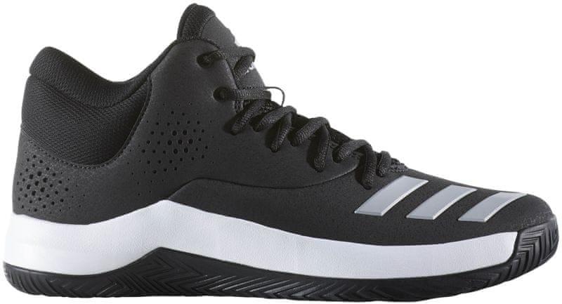 Adidas Court Fury 2017 Core Black/Grey/Ftwr White 41.3