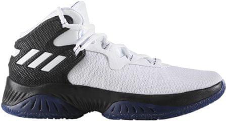 Adidas otroški športni copati Explosive Bounce J, črno/belo/modri, 37,3