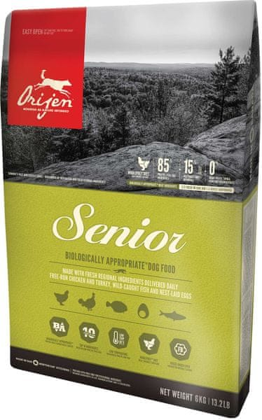 Orijen Senior Dog 6 kg