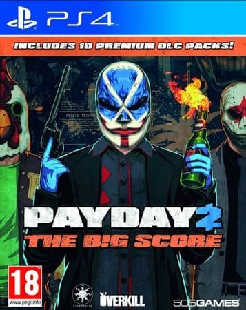 505 Gamestreet Payday 2: The Big Score (PS4)