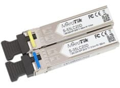 Mikrotik modul S-35/53LC20D x2 Single Mode SFP
