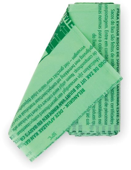 Brabantia Kompostovateľné vrecká 6l (S) 10 ks