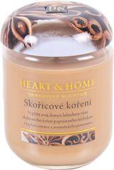 Albi Heart & Home malá svíčka Skořicové koření